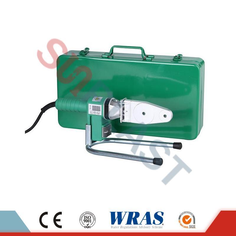 20-63mm Socket फ्यूजन वेल्डिंग मिसिन PPR पाइप को लागि & amp; HDPE पाइप