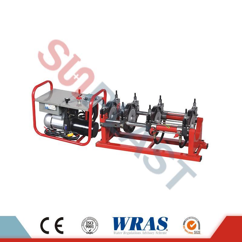 63-160 मिमी हाइड्रोलिक बट फ्यूजन वेल्डिंग मिसिन को लागि HDPE पाइप को लागि